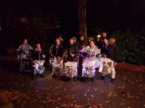Onze musicale ondersteuning: Banda da Luz